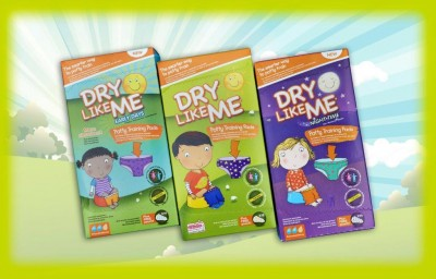 Dry Like Me Night Time Potty Training Pads 14 per pack